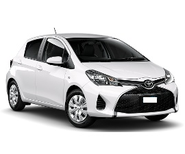 Dollar Toyota Yaris Car hire