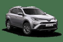 Europcar Toyota Rav4 SUV Rental
