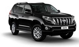 Hertz Toyota Prado 4 Wheel Drive Rental
