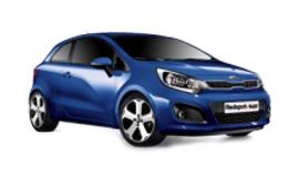 Redspot Kia Rio Hatch Car Rental