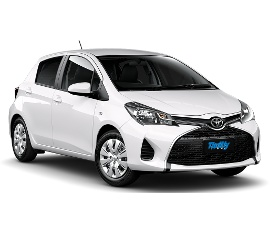 Thrifty Toyota Yaris Manual Car Rental